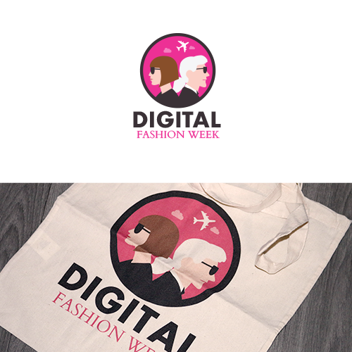 Logo Réalisé pour un évènement Digital Fashion Week chez Air France