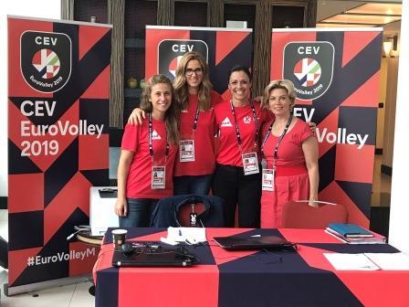 EuroVolley2019 - gestion hébergement tournoi