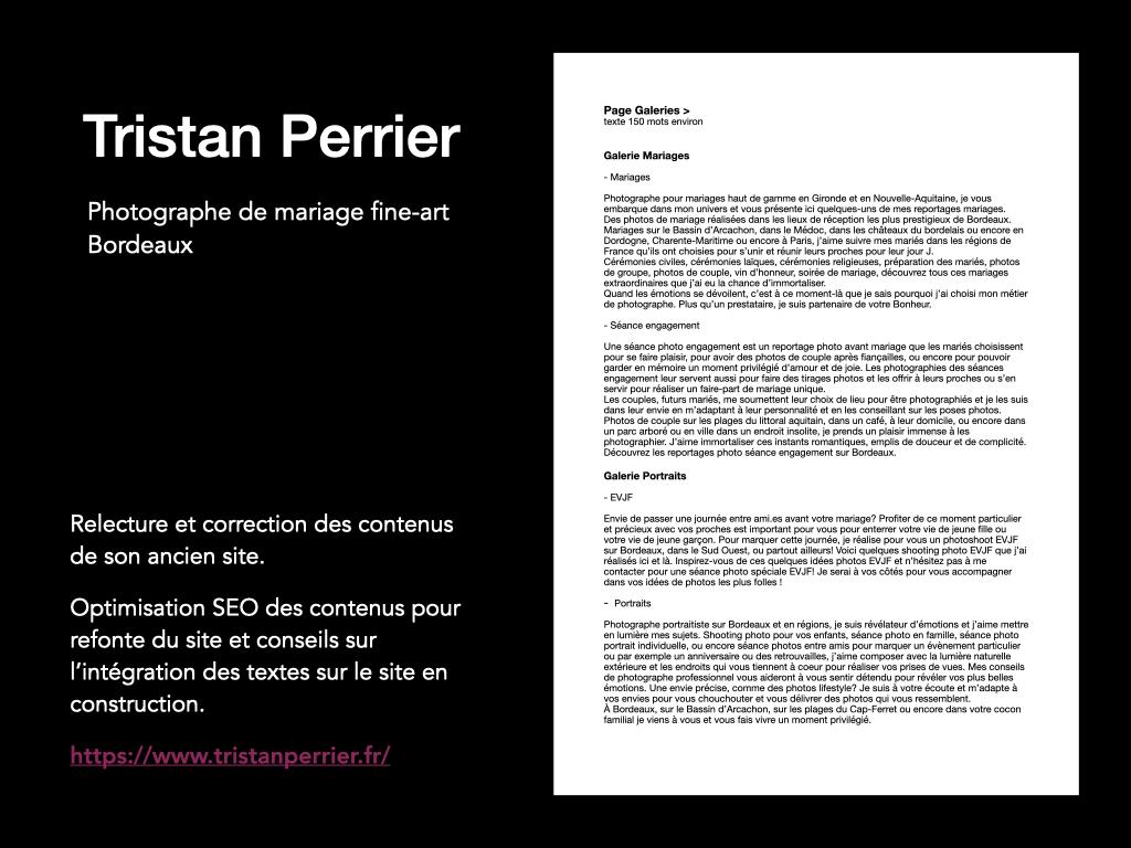 Tristan Perrier - photographe de mariage