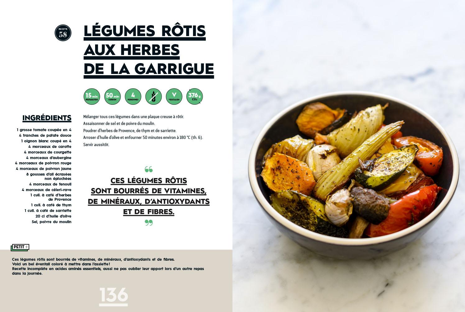 Végétarien facile et quotidien (éditions de La Martinière)
