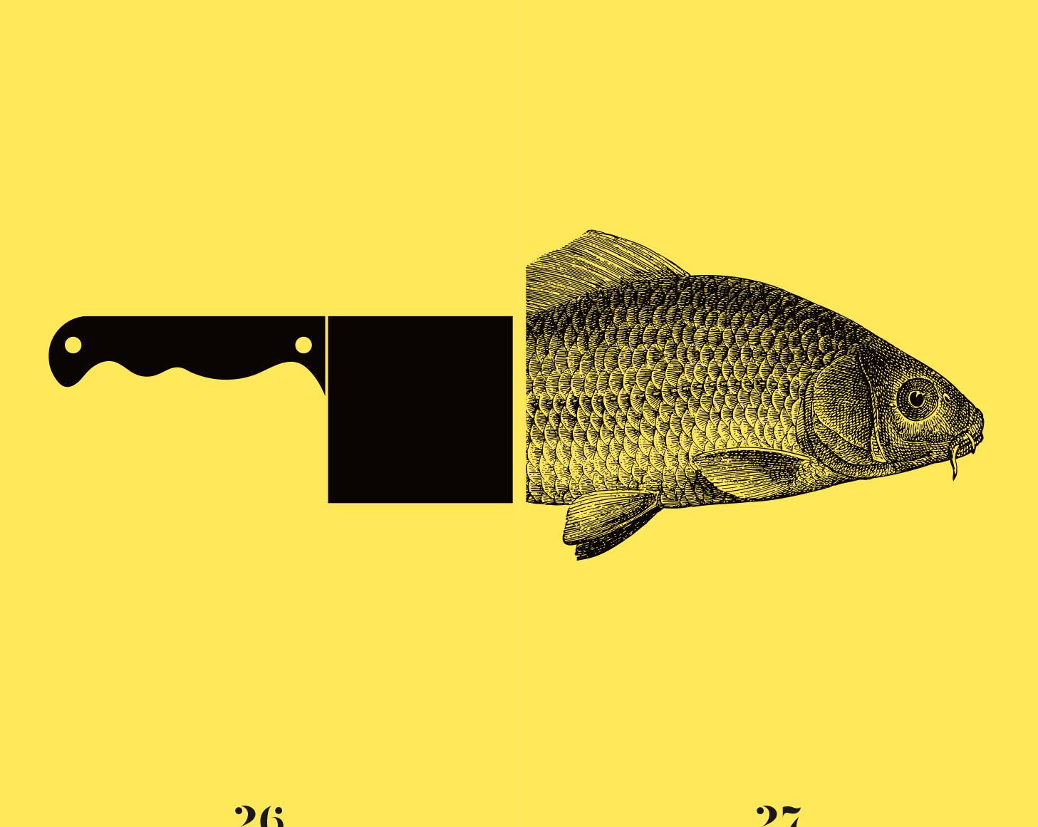 Le jaune et le blanc (éditions de La Martinière)